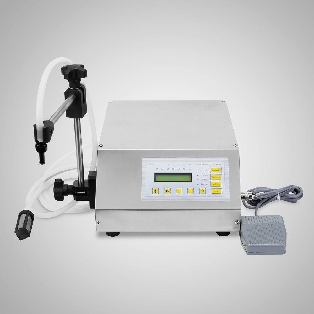 купить Double head Updated Model GFK-160 2ML-3500ML Digital Control Pump Liquid Filling Machine по цене 4521.83 рублей