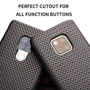 Image 5 - QIALINO Fashion Genuine Leather Flip Case for Huawei Mate 20 Pro Stylish Business Ultra Slim Cover with Smart View for Mate 20