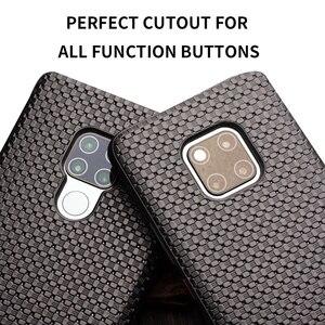 Image 5 - Qialino fashion couro genuíno flip case para huawei mate 20 pro elegante capa de negócios ultra fina com vista inteligente para mate 20