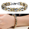 2016 Classic Design Punk 316L Stainless Steel Bracelet Special Biker Bicycle Motorcycle Chain For Mens Bracelets & Bangles