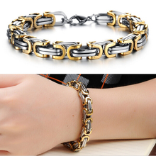 2016 Classic Design Punk 316L Stainless Steel Bracelet Special Biker Bicycle Motorcycle Chain For Mens Bracelets