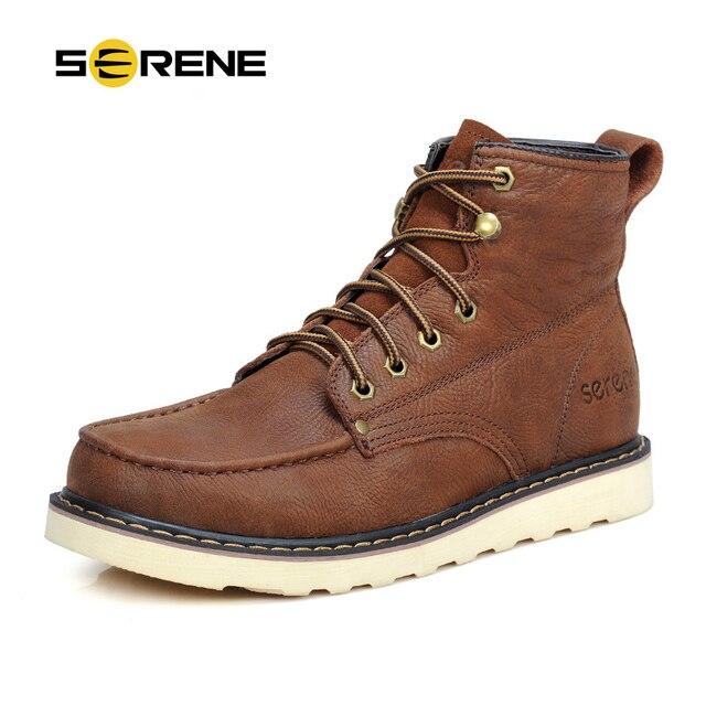 Bottes d'hiver pour Hommes Chaussures d'hiver de mode Casual Safety Bottes de neige pour Hommes bottes pour Hommes marron 49 ncC4f9