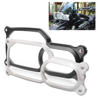 Motorcycle Frame Front Headlight Guard Cover Lens Protector For BMW F800GS 2008 2015 CNC Aluminum Motorbike
