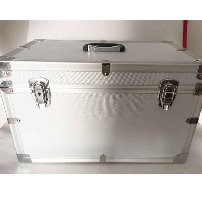 Алуминиева рамка ABS MDF лист куфар куфари пътна чанта въздушен превозвач чанта чанта багаж чанти Инструмент кутия голяма заключване инструментариум