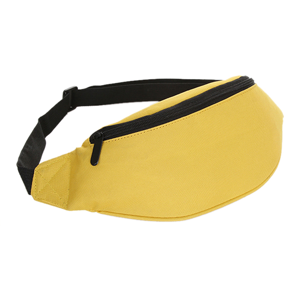 2018 Fanny Pack Hip Waist Festival Money Pouch Belt Wallet Travel Bag Holiday Kids Yellow