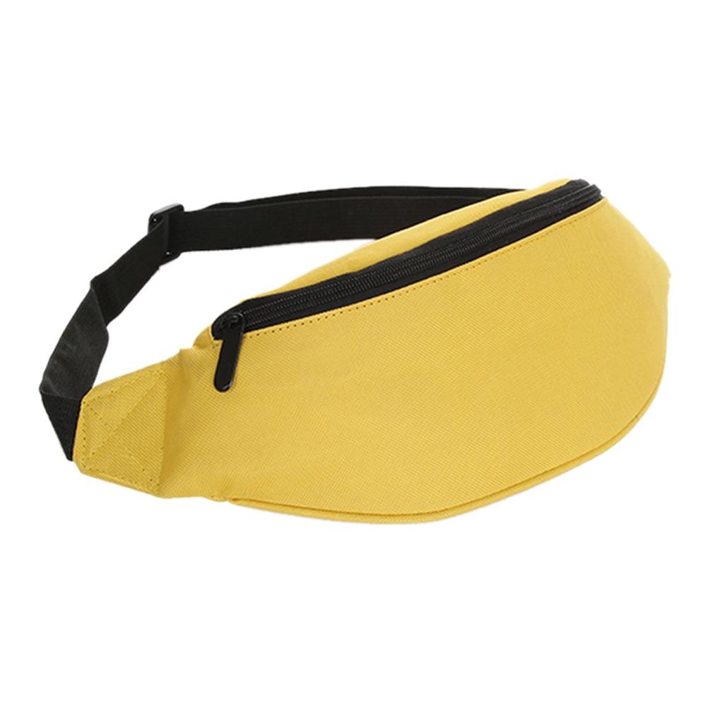 2018 Fanny Pack Hip Waist Festival Money Pouch Belt Wallet travel bag Holiday Kids yellow