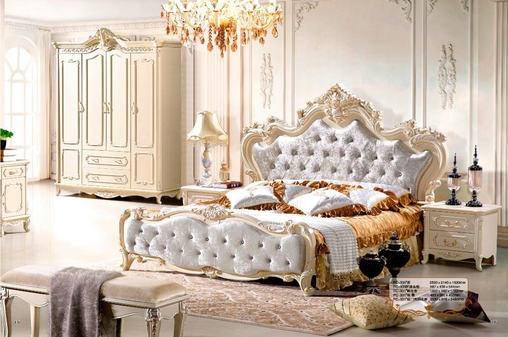 Amazing Italian Bedroom Set With Luxury Style High Quality