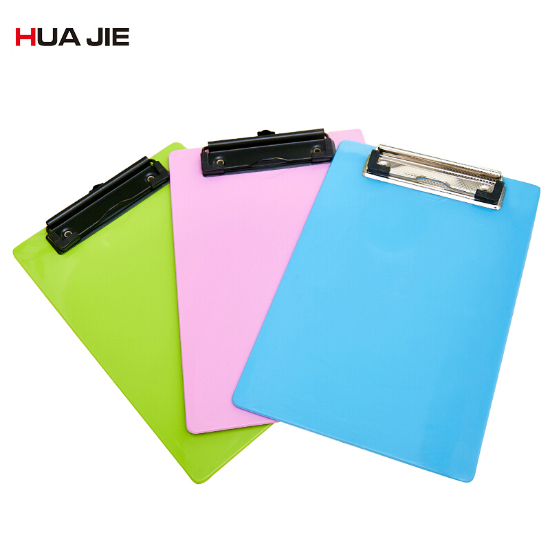 Clipboard Writing Pad A4 Plastic Paper Clip File Folders Document Folders Office School Supplies Drawing Writing Boards WB1204