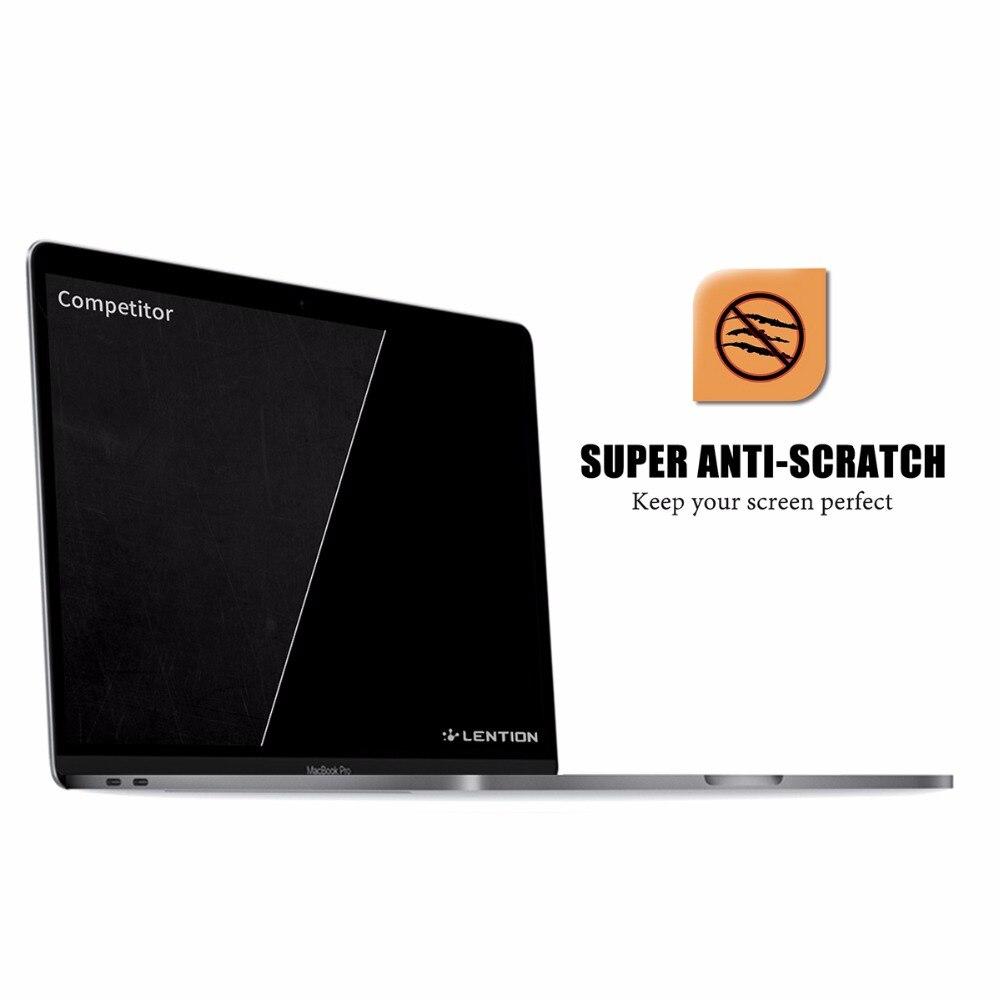 Lention Защитная пленка для ноутбука MacBook Pro 15 с Touch Bar A1707 ясно microsoft поверхность книга Экран протектор для глаз