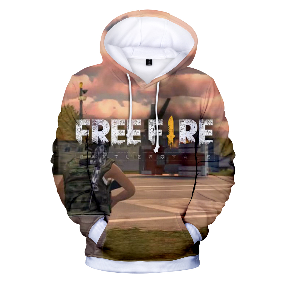 detailed look 7d070 df8c3 Free Fire Print 3D Hoodies Sweatshirt Men Women Funny Game 3D Print Hoodie  Tracksuit Pullover Jacket Coat Brand Gamer Clothing-in Hoodies   Sweatshirts  from ...