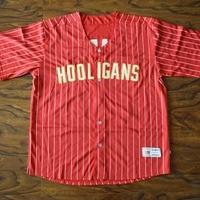 MM MASMIG Bruno Mars 24K Hooligans Baseball Jersey Stitched Red