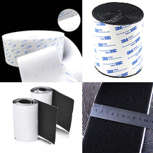 1Meter Self-adhesive Hook and loop fastener tape Double sided tape Velcros strap nylon Adhesive Magic tape for decor 10cm width