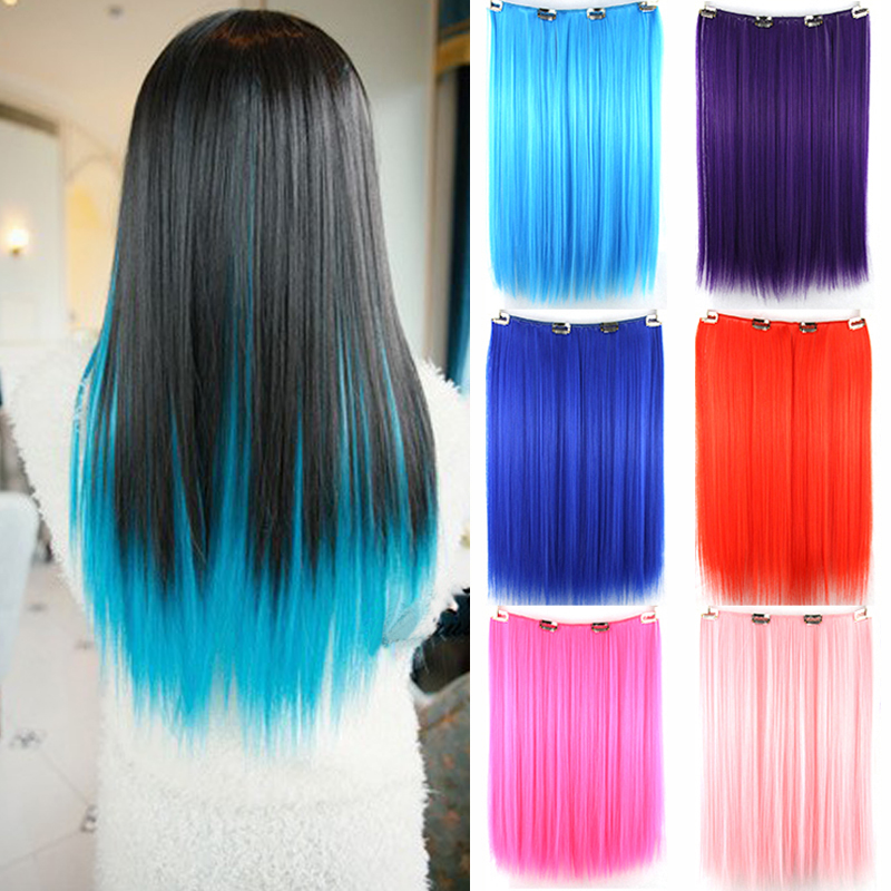 Tianlin 9 colors pink blue hair color clip in hair ombre wig tianlin 9 colors pink blue hair color clip in hair ombre wig extensions synthetic treadlocks mega hair straight hairpiece on aliexpress alibaba group pmusecretfo Choice Image
