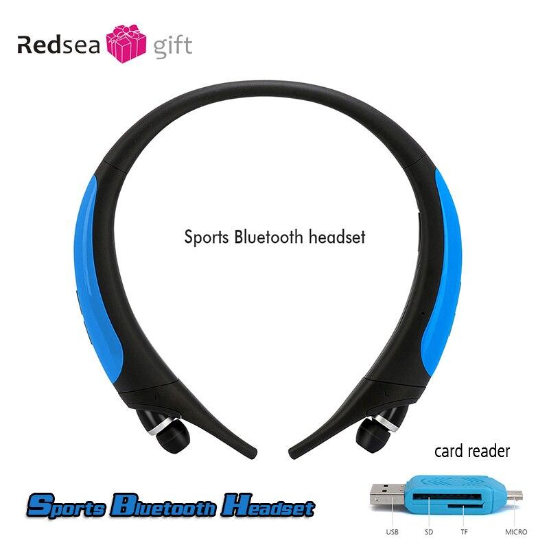 bilder für Neutrale sport Bluetooth headset hängen hals wireless stereo headset hals hängen 4.1CSR programm