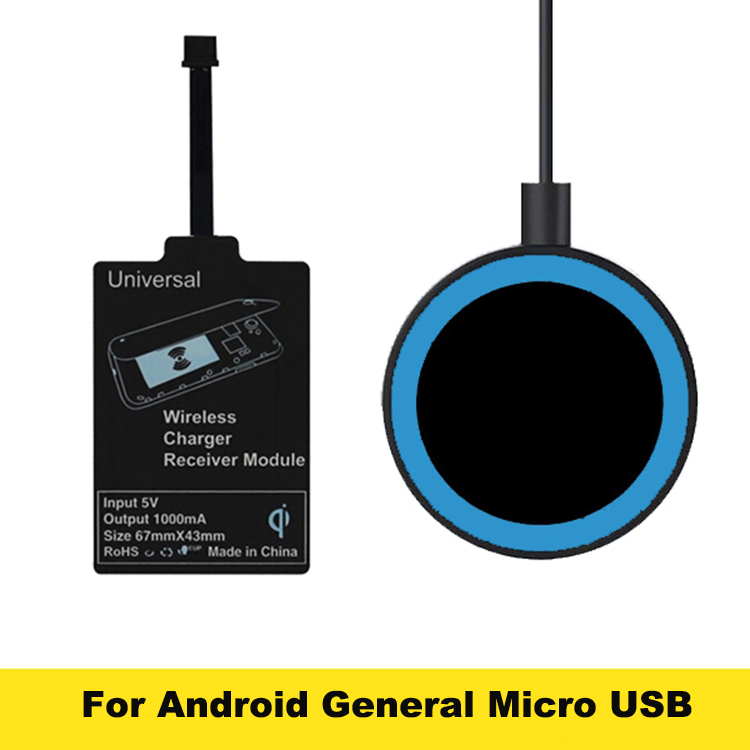 2016 Round <font><b>Qi</b></font> Wireless <font><b>Charger</b></font> Charging Pad Receiver For Samsung Galaxy S3 S4 <font><b>S5</b></font> Lumia 920 Nexus 5 6 7 Moto 360 HTC LG #S0106