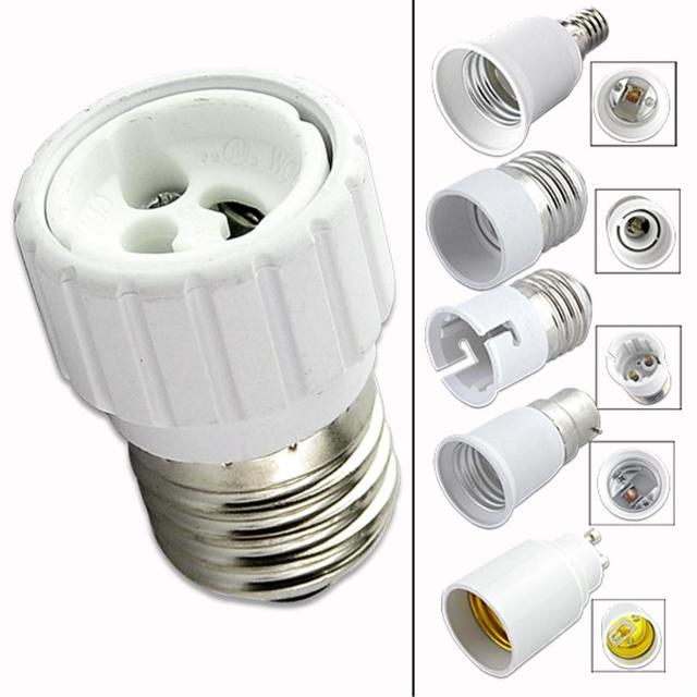 Gu10 Bulbs Socket Converter Bases For E27 Lighting Us2 07 On Light In 44Off From Lightsamp; E14 B22 Holder Led Base Lamp cheap Adapter 7yY6vIbfmg