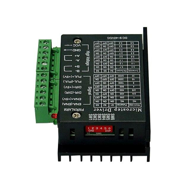 42/57/86 TB6600 pilote de moteur pas à pas 32 segments version améliorée 4.0A 42VDC
