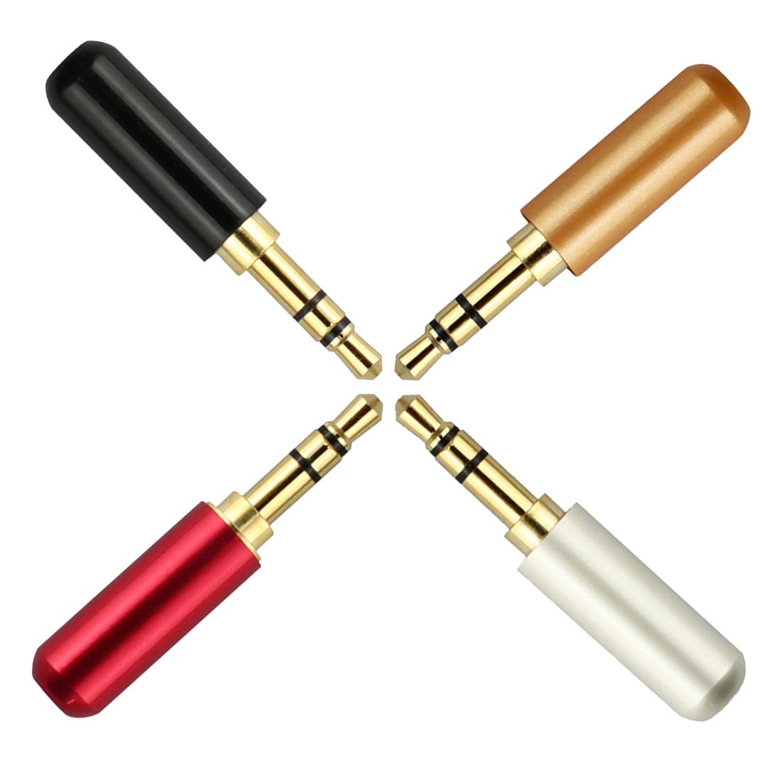Новый 3,5 мм 1/8 стерео разъем 3 дуги двухканальный DIY разъем заглушки для наушники пайки