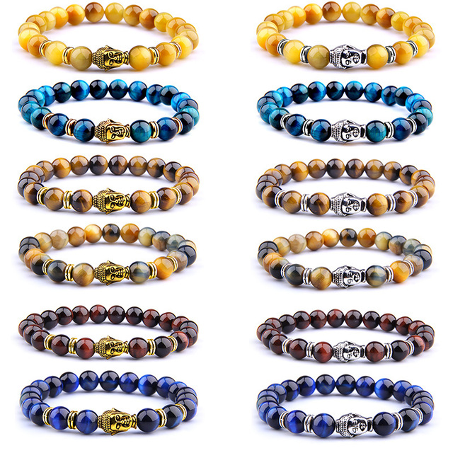 acheter Bracelet Tête de Bouddha pas cher