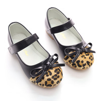 2017 New Spring Leopard Children S Footwear Princess Infant Girl Shoes With Bowknot PU Children Shoes