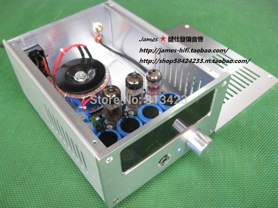WCF pure tube headphone amp DIY KIT high end tube amplifier