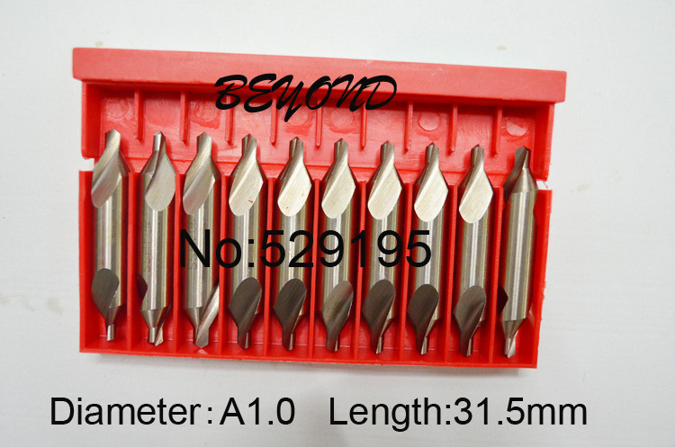 A1.0Brand New 10 A-Type Factory direct sales, a large quantity favorably Centre Drill Countersinks Bit Set Pilot Drill Bit factory outlets opening film ru ru tea sets italics kit logo new custom large favorably