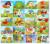 HAPPYXUAN 20 Diseños/paquete de La Nueva Serie ZH Pequeño EVA 3D Estéreo Rompecabezas DIY Pegatinas Niños Toma de La Mano de dibujos animados
