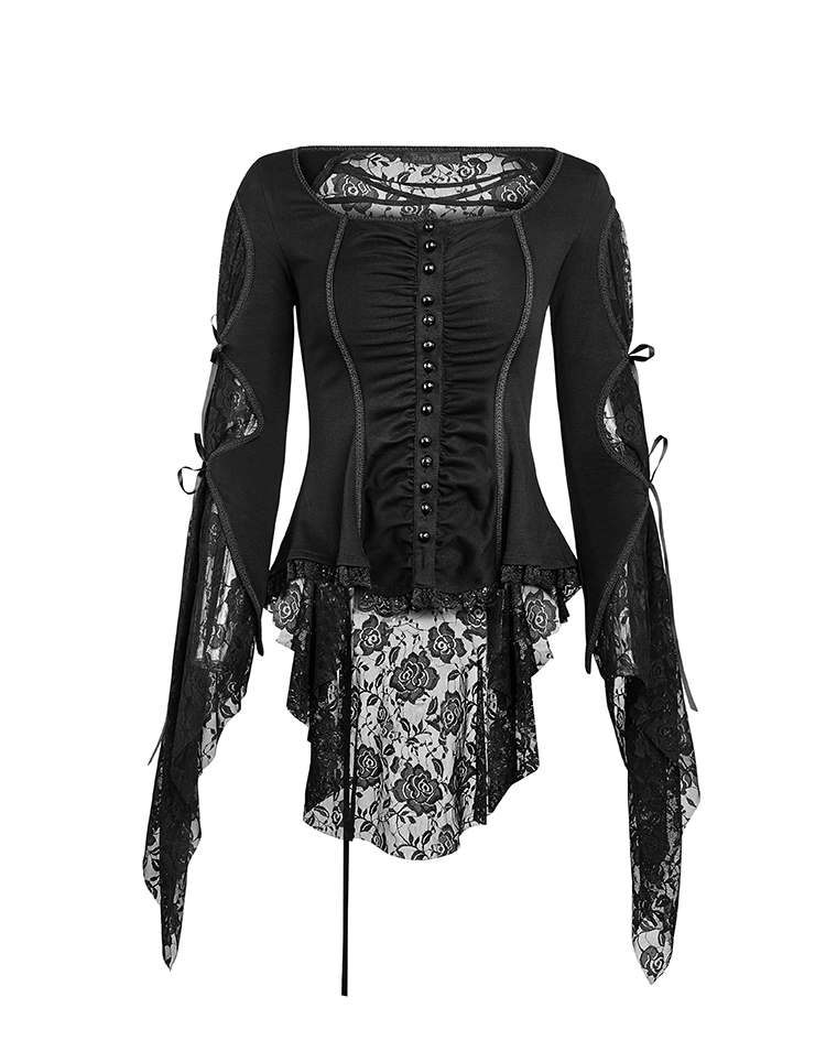 2017 new design punk rave gothic style t-shirt women sexy tshirt women tops womens clothes y-683