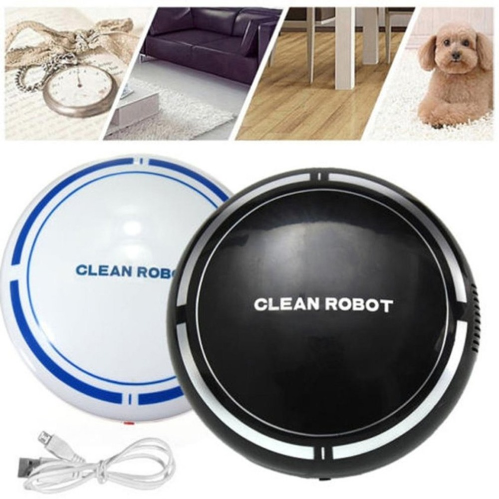 USB Rechargeable Auto Cleaner Microfiber Smart Robotic Mop Dust Cleaner Household Cleaning Tool Floor Corners Crannies цена 2017