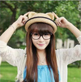 Fashion Summer Orecchiette Straw Hat Korean Men And Women Parenting Children Sun Hat Visor Cap