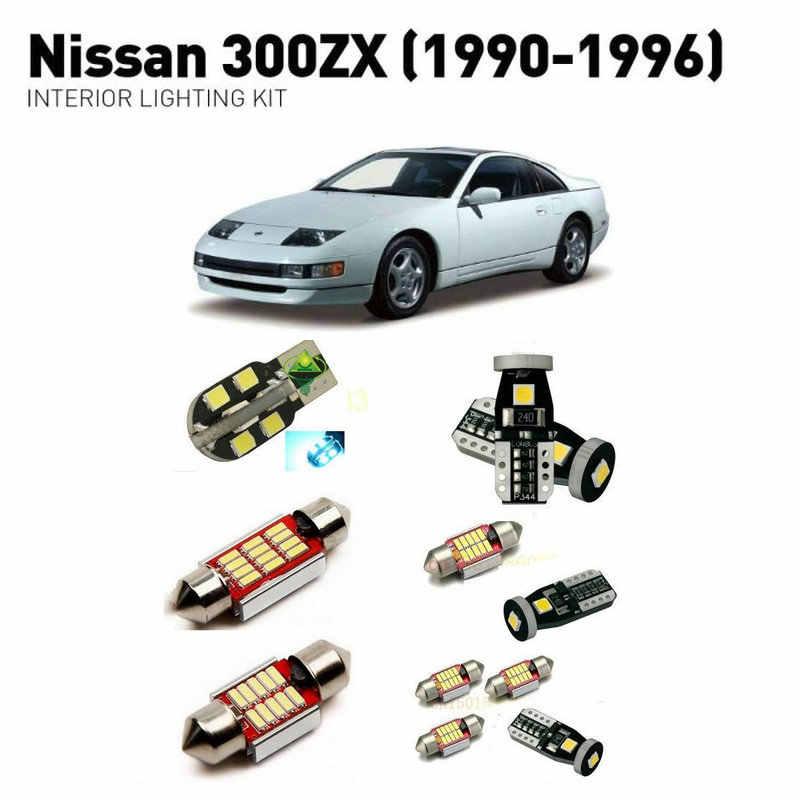 Led Lights For Cars >> Led Interior Lights For Nissan 300zx 1990 1996 13pc Led Lights For Cars Lighting Kit Automotive Bulbs Canbus