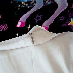 Image 3 - LOVINSUNSHINE Cartoon Unicorn חמוד סט מצעים שמיכה כיסוי סט לילדים ילדי שמיכה כיסוי סט מלכת מלך גודל AU01 *