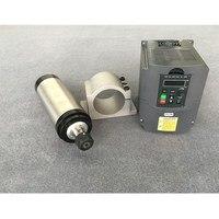2.2kw Luftgekühlte Spindel Cnc Motor 80mm 2 2 Kw Fräsen Maschine + 220 v Vfd/Inverter + 80mm Clamp-in Werkzeugmaschinenspindel aus Werkzeug bei