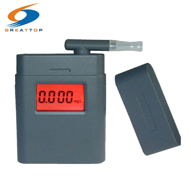 Alcol Tester respiro Ethylotest Digitale Ecran Eclaire avec 5 embouts ethylometre testeur alcool Etilometro Digitale Alcootest
