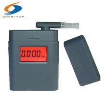 Testeur d'alcoolémie éthylotest, écran éclair numérique avec 5 embouts, éthylomètre, éthylomètre