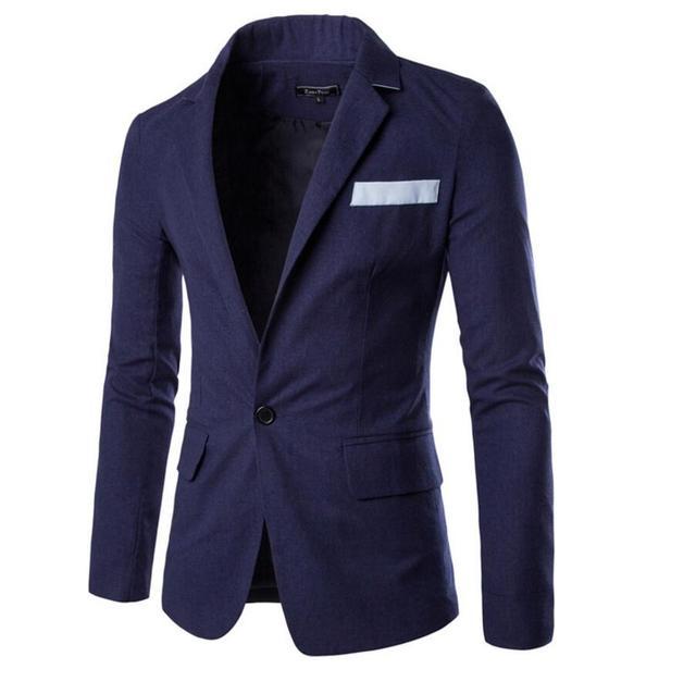 Формальных случаев мужчины куртка классический высокие пользовательские качества свадьбы жених пальто лацкан однобортный мужчины куртку