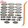 25Pcs Car White Interior LED Light Kit For BMW 5 Series E39 525i Wagon Touring 99