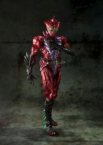 Image 3 - 100% Original BANDAI GEISTERN Tamashii Nationen SIC/SUPER IMAGINATIVE CHOGOKIN Action Figure Kamen Rider Alpha