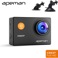 Apeman A66 DVR Dash Cam Video Recorder 1 5 Inch LCD Novatek 96650 Action Sport Camera