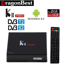 Smart TV Box KII Pro Android 5.1 2G/16G DVB-S2 DVB-T2 4 Karat * 2 Karat Amlogic S905D Quad-core WIFI KIIpro Smart Media Player Set Top Box