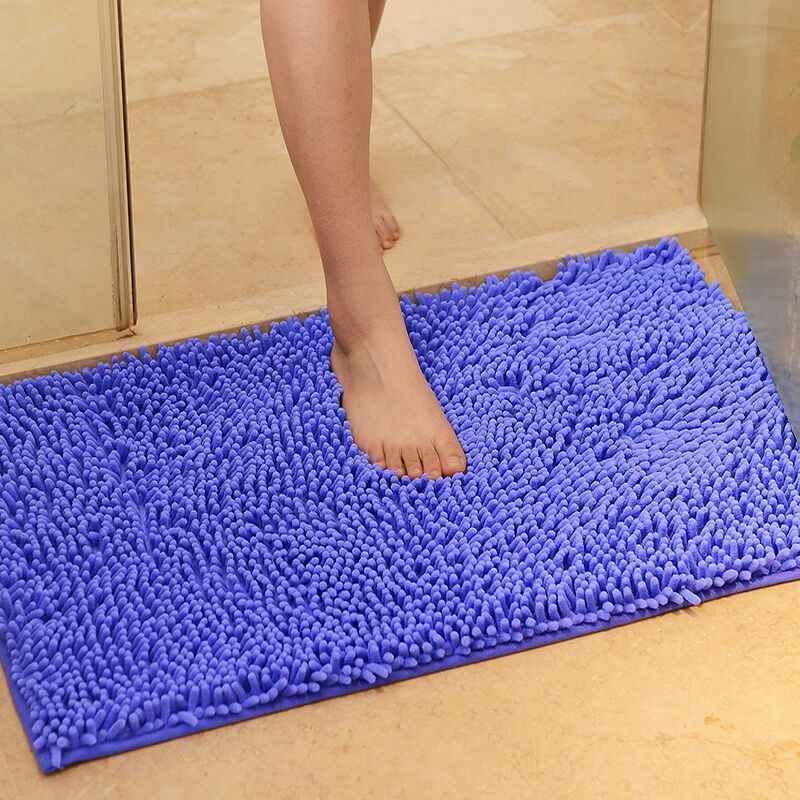 Bathroom Bath Non Slip Mat Chenille