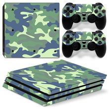 Camo / Camouflage PS4 Pro Skin Sticker