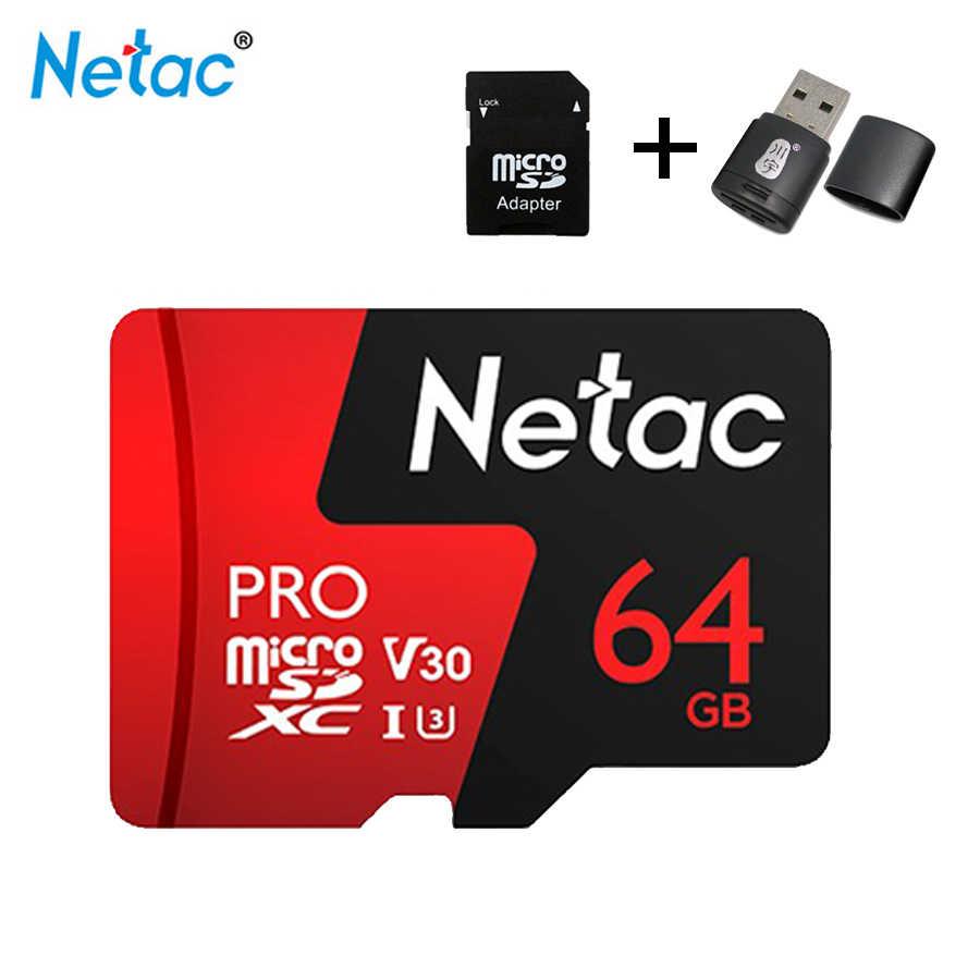Mini Sd Karte 32gb.Netac P500 Micro Sd Card 16gb 32gb 64gb 128gb Class10 Compact Flash Monitor Sd Card Free Shipping Karte Tf Karte Tablet Suntrsi