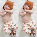 Новорожденного Младенца Мальчики Девочки Хлопок Одежды Длинные Брюки Брюки Симпатичные Фокс Ребенка Днища