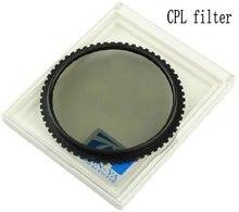 TIANYA Polarizador Circular C-PL CPL Praça Filtro de Cor para Cokin P series