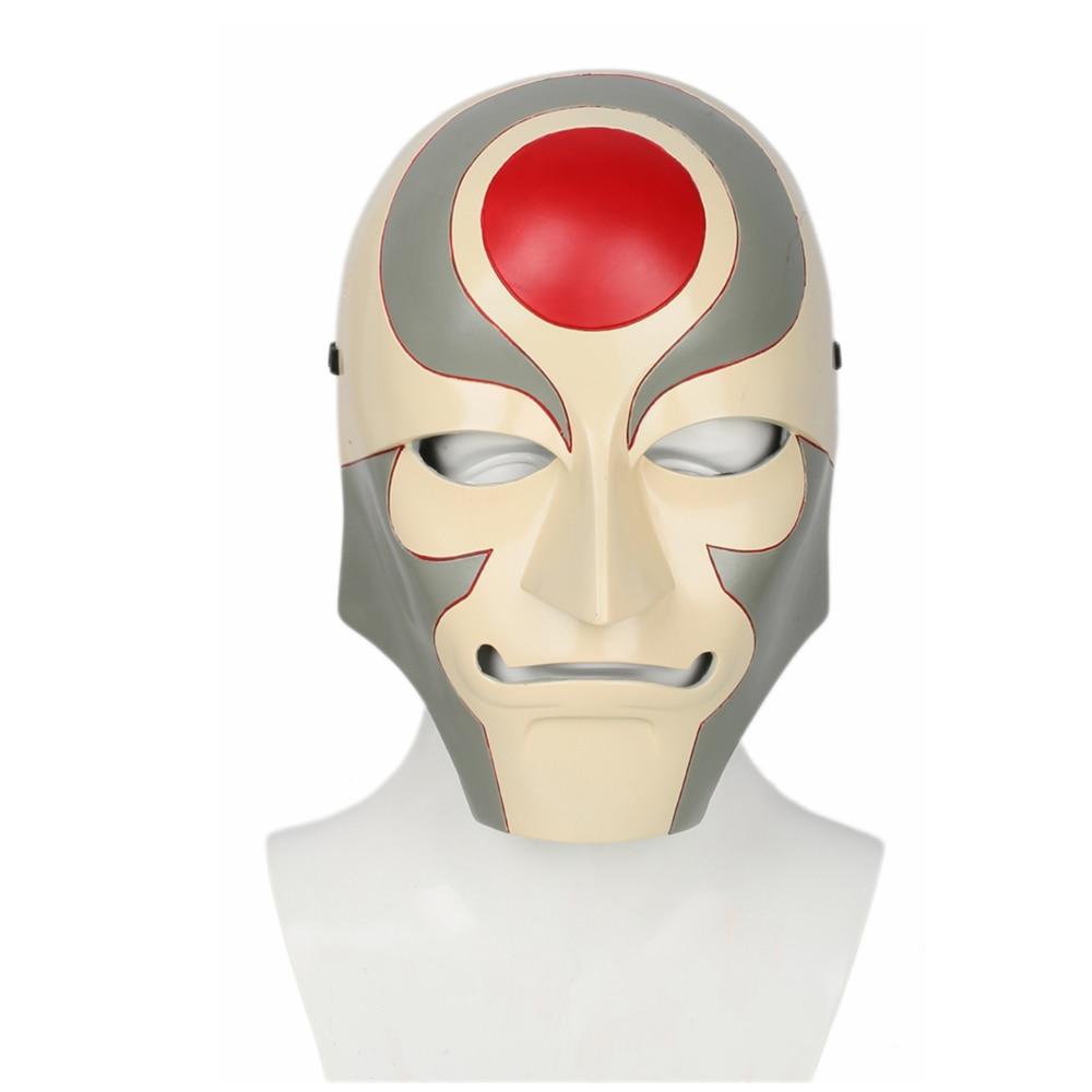 X COSTUME Avatar The Legend of Korra Amon Full Face Mask Resin High Quality Anime Cosplay