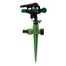 Metal Impulse Sprinkle Lawn Grass Hose 360 Teperature Adjustable Rotating Sprayer Nozzles Garden Arrosage Irrigation System цена