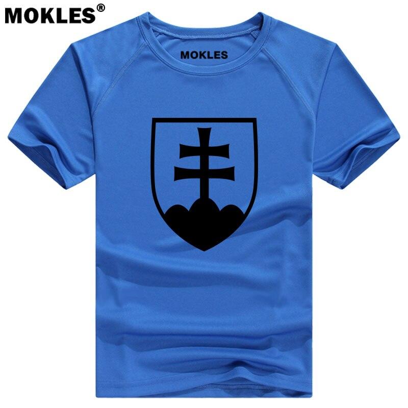 LA SLOVAQUIE t shirt personnalisé nom nombre svk t-shirt nation drapeau sk slovensko pays république slovaque collège impression photo diy vêtements