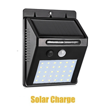 30 LED Outdoor Lighting Solar Powered Lamp Light Outdoor Wall Lamp Waterproof Solar Motion Sensor Garden Light street wall spot super bright 24 leds solar street light led on the wall waterproof outdoor lighting solar lamp with 4000ma battery