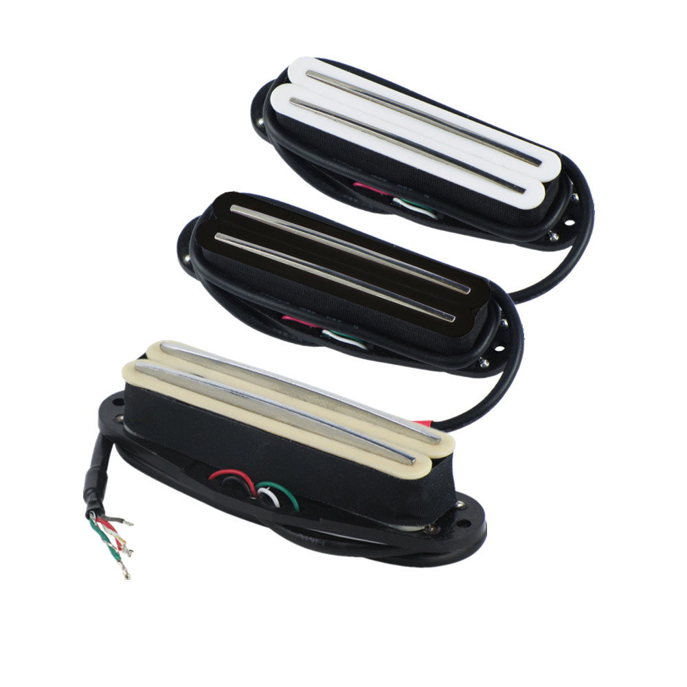 Dual Hot Rail Humbucker Neck Pickup 4 Wire For Electric Guitarin